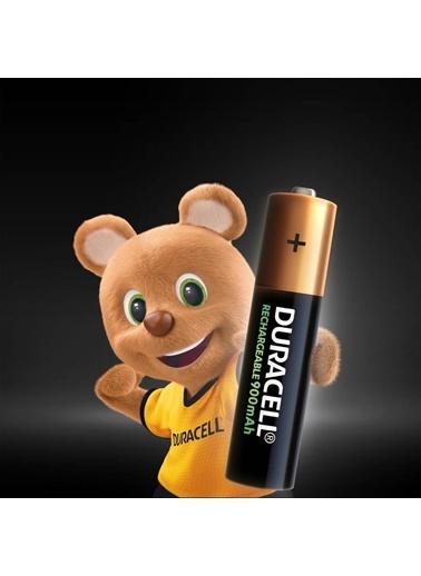 Duracell Duracell Dayanıklı 2'Li Paket X 2 Tekrar Şarj Edilebilir Aaa 900 Mah Pil (4 Adet) Renkli
